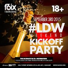 Halloween Town Bakersfield by Labor Day Weekend Kick Off Party F6ixthursdays 18 21 Event