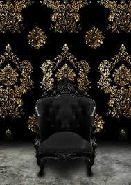 goldene tapeten strahlen wärme aus und sorgen für magische