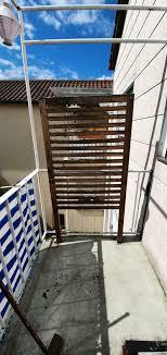 ikea wandpaneel sichtschutz 80x158 cm balkon