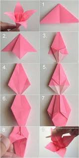 DIY Paper Origami Lily Vintage Wedding Corsages Boutonnieres