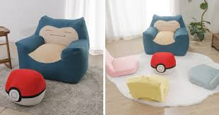 Japanese Company Introduces Insanely Cute Snorlax Sofa ... Welcome To Beanbagmart Home Bean Bag Mart Biggest Chair In The World Minimalist Interior Design Us 249 30 Offfootball Inflatable Sofa Air Soccer Football Self Portable Outdoor Garden Living Room Fniture Cornerin Soccers Fun Comfortable Sit And Relaxing Awb Comfybean Shape Bags Size Xxl Filled With Beans Filler Ccc Black Orange Buy Lazy Dude Store In Dhaka Bangladesh How Do I Select The Size Of A Bean Bag Much Beans Are Shop Regal In House Velvet 7 Kg Online Faux Leather