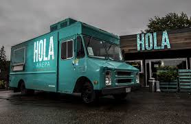 Best Brick-and-mortar Iteration Of A Food Truck - Hola Arepa ... The 10 Best Food Trucks In Midwilshire Los Angeles 19 Essential In Austin Truck Of The Whatsuppubcom Nek Kingdom 2017 Caledonianrerdcom Listopedia World Expediaconz Five Miami Ben Jerrys Skull Creek Greek Steamboattodaycom Foodies Converge On Court Coeur Dalene Kxly And Worst Cities For Operating A Wine Kona Dog Franchise Opportunity Chicago Pizza Tacos More Austins That Adventurer