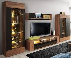 Anbauwand Wohnzimmer Mã Bel Wohnwand Mit Led Beleuchtung Anbauwand Wohnzimmer