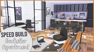 100 Bachlor Apartment The Sims 4 Speed Build MODERN BACHELOR APARTMENT CC Links