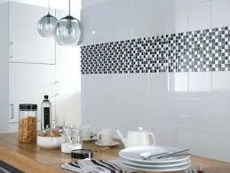 frise faience cuisine frise faience cuisine carrelage metro miroir dans la cuisine with