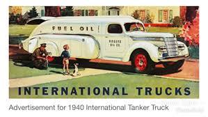 100 1940 International Truck Tanker Car Ads Pinterest S