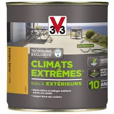 revetement sol exterieur resine leroy merlin peinture sol extérieur climats extrêmes v33 jaune parking 0 5 l