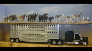 Kenworth Toy Truck And Cattle - YouTube Farm Toys For Fun A Dealer Toy Cattle Hauling Trucks Wyandotte Dodge Cab Great Plains Cattle Ranch Tt Truck 40s V Collectors Official Tekno Distributors Suppliers 12002 Livestock Road Train Highway Replicas Model Trucks Diecast Tufftrucks Australia Rural Toys Getyourpitchforkon Wooden Toy B Double Kenworth And Youtube 120th 28 Sundowner Trailer By Big Country