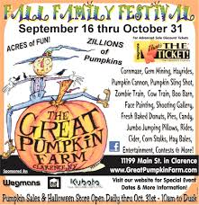 Pumpkin Picking Ridge Ny by Fall Family Festival The Great Pumpkin Farm