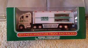 2013 Hess Miniature Truck And Racers New In Box! [122853822346 ... The Hess Race Cars Here Releases 2009 Toy Car And Racer Any More Trucks Best Truck Resource 2010 Gasoline And Jet With Similar Items 2013 Hess Truck Tractor Review Youtube Classic Toys Hagerty Articles Hess Trucks Helicopter Plane Lot 6500 Pclick Tractor New In Box Unopened Never Played Great River Fd Creates Lifesized Newsday Leaving American Trucking Show Diesel Featured A Freakin F22 Helicopter