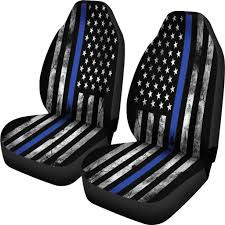 Thin Blue Line Seat Covers For Trucks And Cars Personal – Let's ... Truck Seat Covers Camo Near Me New Dodge Ram Replacement Seat Covers Collection Of Dog For Trucks Car Suv Seats Cal Trend Leather Genuine Cover Aztec Decor Auto Coverking Neosupreme Free Shipping Truck By Clazzio Easy To Install Saddle Blanket Saddleman Fia The Leader In Custom Fit Universal
