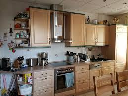 küche küchenzeile und küchenblock mit elektrogeräten gebraucht