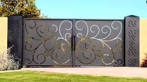 40 Creative GATE Ideas 2017 - Amazing Gate Home Design Part.1 ... Iron Gate Designs For Homes Home Design Emejing Sliding Pictures Decorating House Wood Sizes Contemporary And Ews Latest Pipe Myfavoriteadachecom Modern Models Concepts Ideas Building Plans 100 Wall Compound And Fence Front Door Styles Driveway Gates Decor Extraordinary Wooden For The Pinterest Design Of Geflintecom Choice Of Gate Designs Private House Garage Interior