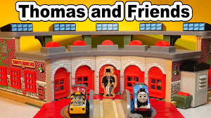 Tidmouth Shed Deluxe Set by Thomas And Friends Tidmouth Shed Overview With Diesel 10 By Top