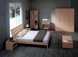 Awesome Simple Apartment Bedroom Decor With Nice Furnishing