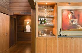 Small Bar Design For The Modern Dining Room Lane Williams Architects