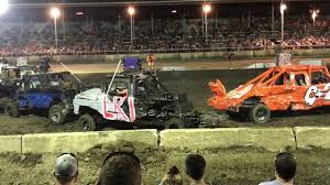 Champaign Co. Demo Derby 2017 Trucks - YouTube Wrecked Truck During Demolition Derby Editorial Stock Photo Image Combine Local Driver Salary Trucks Pickup Truck Demolition Derby Youtube Douglas County Winners Crowned Herald Q927 Wqel Nice Day For A Drive At Anoka Fair Star Cummins In Dodge Diesel Dresden 2015 Pro Mod Action Auto Demo Fairgrounds Driveshaft Ejected Into Crowd Three Injured Cars And After