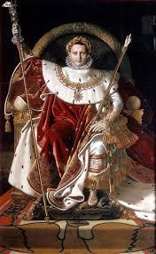 Napoleon On His Imperial Throne