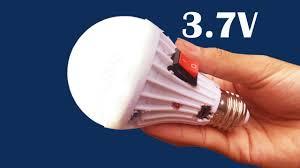 how to make 3 7v dc for led light bulbs using phone battey