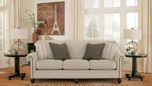 milari linen rayon sofa from ashley 1300038 coleman furniture