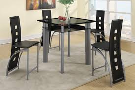 5-Pcs Counter Height Dining Set (Table + 4 Chairs) F2224