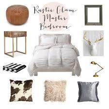 Rustic Glam Master Bedroom Inspiration