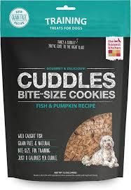 Using Pumpkin For Diarrhea In Dogs by The Honest Kitchen Cuddles Grain Free Fish U0026 Pumpkin Recipe Cookie