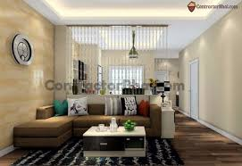 Contractorbhai Elegant Bead Hanging Partition Have A For Huge Living Room