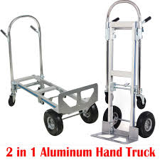 100 Convertible Hand Truck US SHIP2in1 Aluminum 770LBS Foldable Dolly