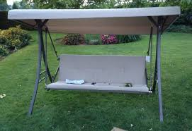 Sears Patio Swing Replacement Cushions by Home Depot Hampton Bay Futon Swing Assembly Tutorial Youtube