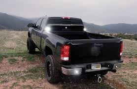 Transforming A 2009 GMC 2500HD Workhorse With LED Lighting From Vision X Lighted Tailgate Bar Waterproof Running Reverse Brake Turn Signal For 092015 Dodge Ram Chrome 60 Led Tailgate Bar Light Ebay 92 5 Function Trucksuv Light Dsi Automotive Work Blade In Amberwhite With Rambox Squared Nuthouse Industries 2007 To 2018 Tundra Crewmax Bed Rack Dinjee Glo Rails A Unique Light Bar Or Truck Bed Rail That Can Amazoncom 5function Strip Razir Xl Backbone Beam Hidextra How To Install Ford Superduty 50 Mount Socal Rough Country Sport With 042018 F150 42008 Grille Kit Eseries 40587