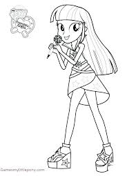 My Little Pony Equestria Girl Coloring Pages Sunset Shimmer Best Of To Print For Elegant And