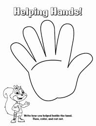 Wash Your Hands Coloring Sheets Helping