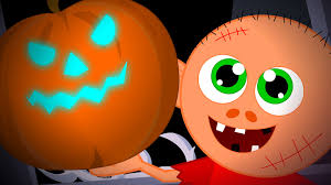 Scary Pumpkin Printable by There U0027s A Scary Pumpkin Scary Song Kids Halloween Nursery Rhymes