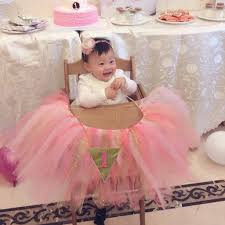 Baby 1st Birthday High Chair Tutu Skirt Tulle Table Skirt Party ... Buy 1st Birthday Boy Decorations Kit Beautiful Colors For Girl First Gifts Baby Hallmark Watsons Party Holy City Chic Interior Landing Page Html Template Pirate Shark High Chair Decoration Amazoncom Glitter Photo Garland Pink Toys Games Mickey Mouse Decorating Turning One Flag Banner To And Gold