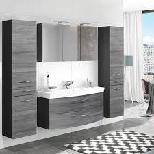 badmöbel set 4 tlg mit 120cm waschtisch spiegelschrank florido 03 ei