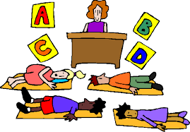 Sleeping Clipart Preschool Nap Time