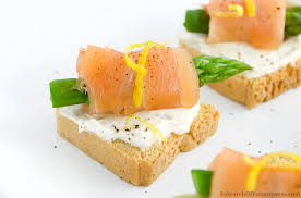 canapé toast smoked salmon canapés in search of yummyness