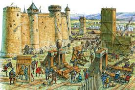 siege engines what type of siege engines were there what were they powered by