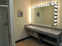 wall mounted makeup mirror rubbed bronze wall mounted lighted