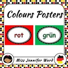 Color Posters In German