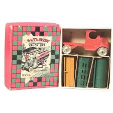 100 Tootsie Toy Fire Truck Toy Interchangeable Set