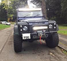 Land Rover Defender Light Bar LED 120W Power 22