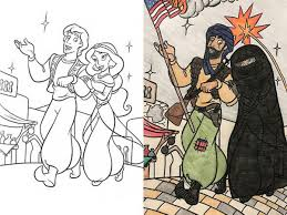 These Colouring Book Corruptions Are Hilarious And NSFW At The