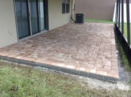 12x12 Patio Pavers Walmart by Lowes Landscaping Blocks Red Brick Patio Pavers Home Design Ideas