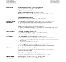 Cvr College Students With No Experience Resume Examples Objective