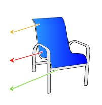 Diy Replace Patio Chair Sling by 16 Best Weaving Lawn Chairs Images On Pinterest Lawn Chairs