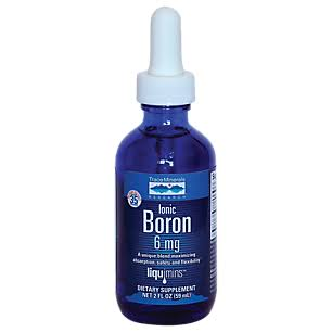 Trace Minerals Ionic Boron Liquid Dietary Supplement - 2oz