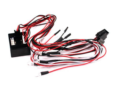 Integy Complete LED Light System - for 1/10 Control Box to RX
