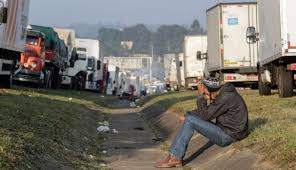 Brazil Truckers Strike: Government Says A 15-day Truce Had Been ... Truck Strike Striking Truckers Cause Traffic Jam Editorial Stock Truck Drivers Strike Exposes Brazils Logistics Vulnerability Port Truck Launch Definite At Ports Of Los Angeles Truckers Four Shipping Companies Southern California The Regis Bittencourt Road In Sao Paulo Sainsburys Again General Se23 Forum Forest Hill Goods Lorry Latest And Breaking News On To Shut Down America Plans 3day National Trucking Strike Ipdent Drivers Are Ready To Likely Ground Secondquarter Brazil Growth Near Star Weekly Another Strikes Notorious Napier Street Bridge